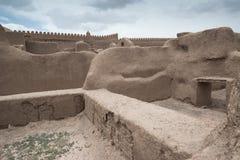 Rayen Castle, arg-ε Rayen σε περσικό, Ιράν Στοκ εικόνα με δικαίωμα ελεύθερης χρήσης
