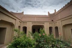 Rayen slott, Arg-e Rayen i perser, Iran fotografering för bildbyråer