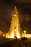 Raykiavik, IJsland Stock Afbeelding