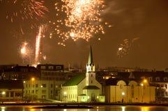 Raykiavik, IJsland Stock Foto's