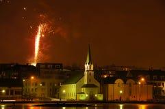 Raykiavik, Islandia Imágenes de archivo libres de regalías