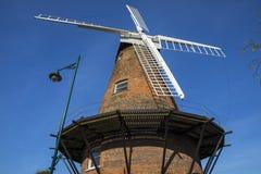 Rayleigh väderkvarn i Essex Arkivfoto