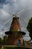 Rayleigh Windmill. The nineteenth century windmill in Rayleigh, Essex, England, restored in the 21st century to be a local history museum Stock Images