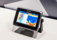 Raymarine GPS system Royalty Free Stock Images