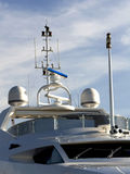 Raymarine Navigation. The navigation system of a Yacht Royalty Free Stock Photography