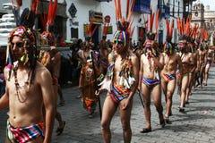 Raymi di Inti Immagine Stock Libera da Diritti