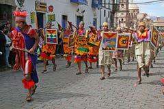 Raymi do Inti imagem de stock