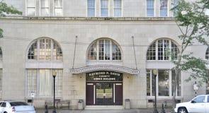 Raymond P Davis County Annex Building Entrance, Meridian, Mississippi lizenzfreie stockbilder