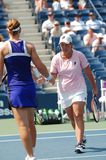 Raymond & Stosur at US Open 2008 (1) Stock Images
