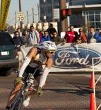 Raynard Tissink Racing in the Arizona Ironman Tria Stock Photo