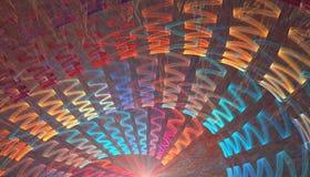 Rayo abstracto Imágenes de archivo libres de regalías