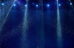 Rayo azul en etapa Foto de archivo libre de regalías