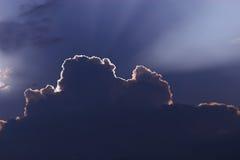 Rayo de la luz Imágenes de archivo libres de regalías
