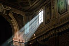 Rayo de la luz Fotos de archivo libres de regalías