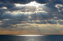 Rayo de la luz Fotografía de archivo