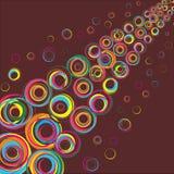 Rayo del color. Vector. Fotos de archivo libres de regalías