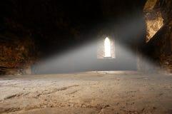 Rayo interior de la abadía de la luz B Imagen de archivo libre de regalías