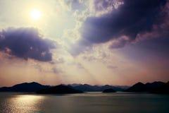 Rayo ligero Foto de archivo libre de regalías