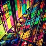 Rayon coloré du soleil Images libres de droits