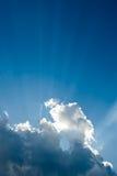 Rayon de lumière Photo libre de droits