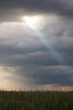 Rayon de lumière Image libre de droits