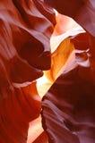 Rayon de lumière en gorge inférieure d'antilope Image stock