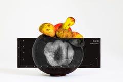 Rayon X de mangoustan pour l'état cheked à l'intérieur Photographie stock