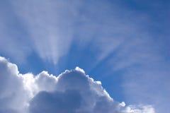Rayon de soleil Images libres de droits