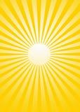 Rayon de soleil Photos stock