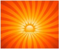 Rayon de soleil abstrait Photographie stock