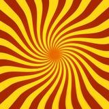 Rayon de soleil spiralé Photos stock