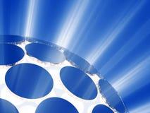 Rayon de sphère de lumières Images libres de droits