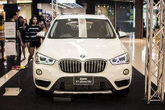 Rayong,泰国- 2017 1月14日BMW汽车展示会 免版税库存图片