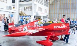 RAYONG, ΤΑΪΛΆΝΔΗ 18 ΝΟΕΜΒΡΊΟΥ 2017: Αεροπλάνο αριθ. του Scott Holmess ` s 9 Στοκ Εικόνα