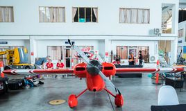 RAYONG, ΤΑΪΛΆΝΔΗ 18 ΝΟΕΜΒΡΊΟΥ 2017: Αεροπλάνο αριθ. του Scott Holmess ` s 9 Στοκ εικόνες με δικαίωμα ελεύθερης χρήσης
