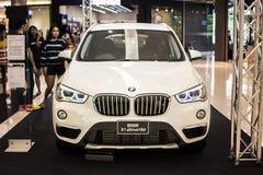 Rayong, Tailandia - 14 de enero de 2017 salón del automóvil de BMW Imagen de archivo libre de regalías