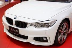 RAYONG, THAILAND - FEBRUARY 13-18:BMW  car on display at Laemton Stock Photo