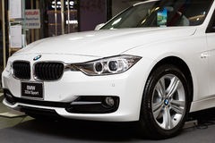 RAYONG, THAILAND - FEBRUARY 13-18:BMW  car on display at Laemton Stock Photography