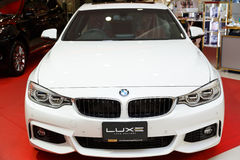 RAYONG, THAILAND - FEBRUARY 13-18:BMW  car on display at Laemton Stock Image
