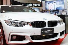 RAYONG, THAILAND - FEBRUARY 13-18:BMW  car on display at Laemton Royalty Free Stock Photo