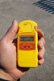rayonnement de measurment Image libre de droits