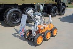 Rayonnement de robot et reconnaissance de produit chimique photographie stock libre de droits