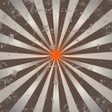 Rayons abstraits du soleil illustration stock