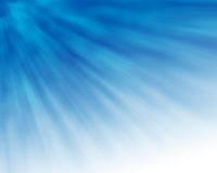 Rayons bleus Photo stock