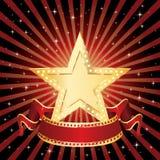 Rayons d'affichage d'étoile Images libres de droits