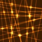 Rayons de laser de vecteur Image stock