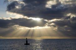 Rayons de lumière Photo libre de droits