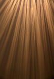 Rayons de lumière Images stock