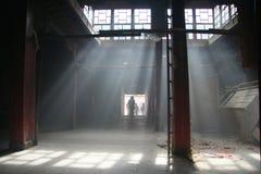Rayons de lumière Image libre de droits
