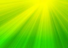 Rayons de lumière du soleil Photos libres de droits